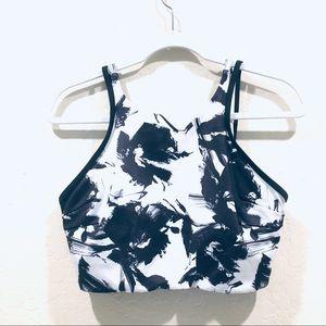 Joy Lab Black/ White sports bra
